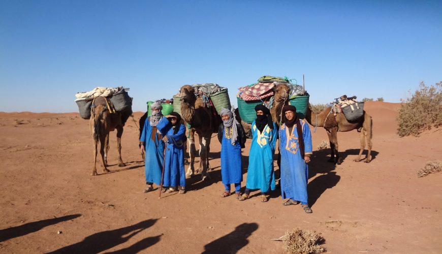 5 Days Camel Trekking To Erg Zahar Dunes