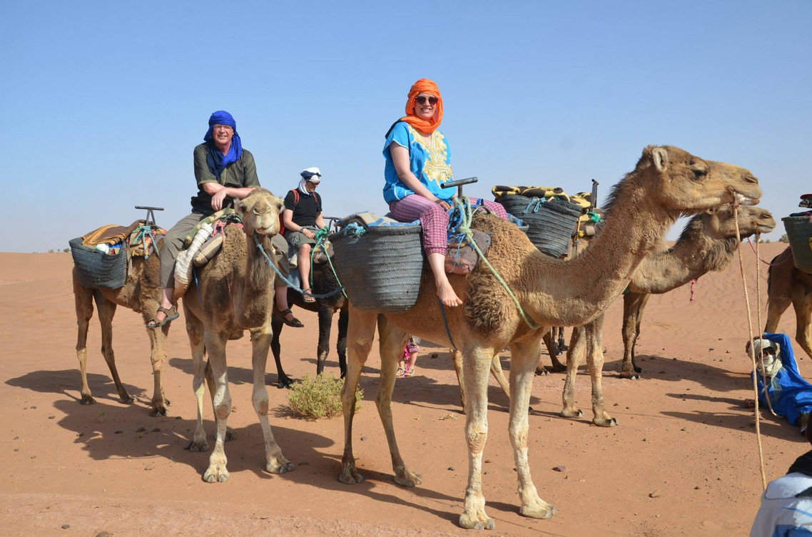 Day 1: From Mhamid To Erg Lihoudi Dunes