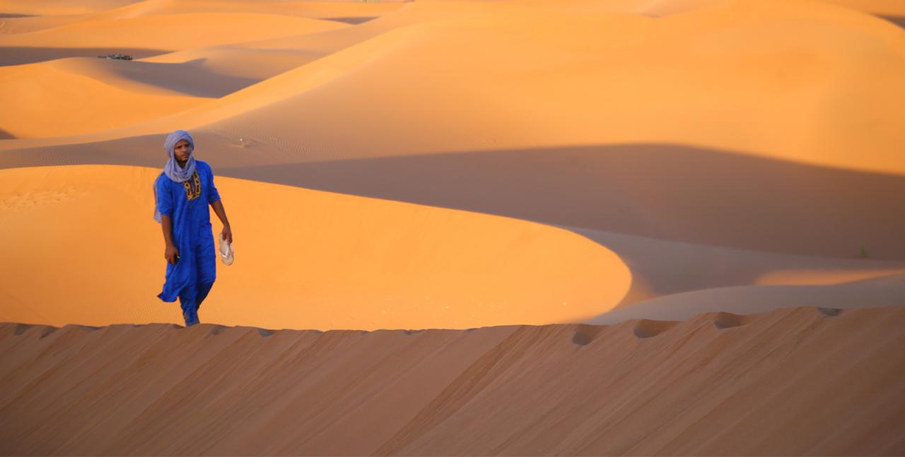 Day 2: From Erg Lihoudi To Erg Chigaga Dunes M'hamid